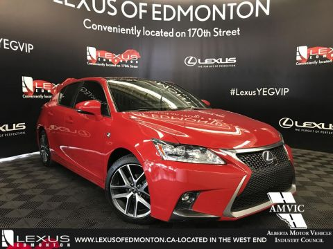 Used Lexus CT 200h F Sport Package