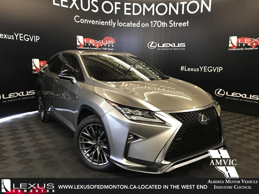 Certified Pre Owned 2017 Lexus RX 350 F Sport Series 2