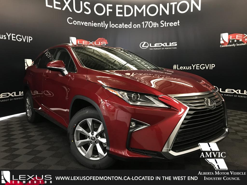 Lexus rx 350 all wheel drive system