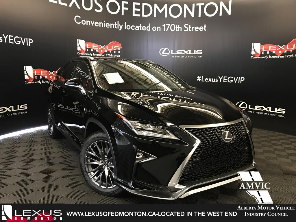 New 2018 Lexus RX 350 F Sport Series 2