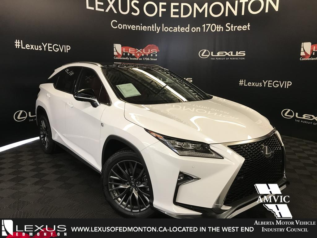New 2018 Lexus RX 350 F Sport Series 3