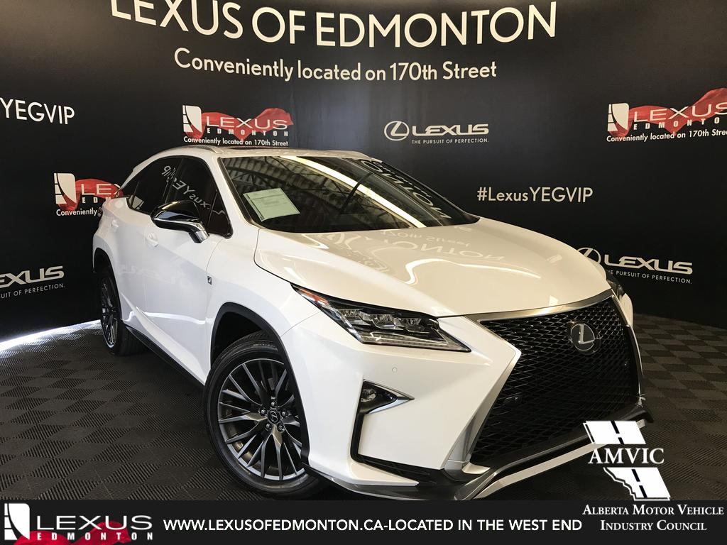 Certified Pre Owned 2018 Lexus RX350 F Sport Series 2