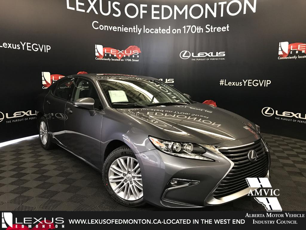 New 2018 Lexus Es 350 Standard Package 4 Door Car In Edmonton
