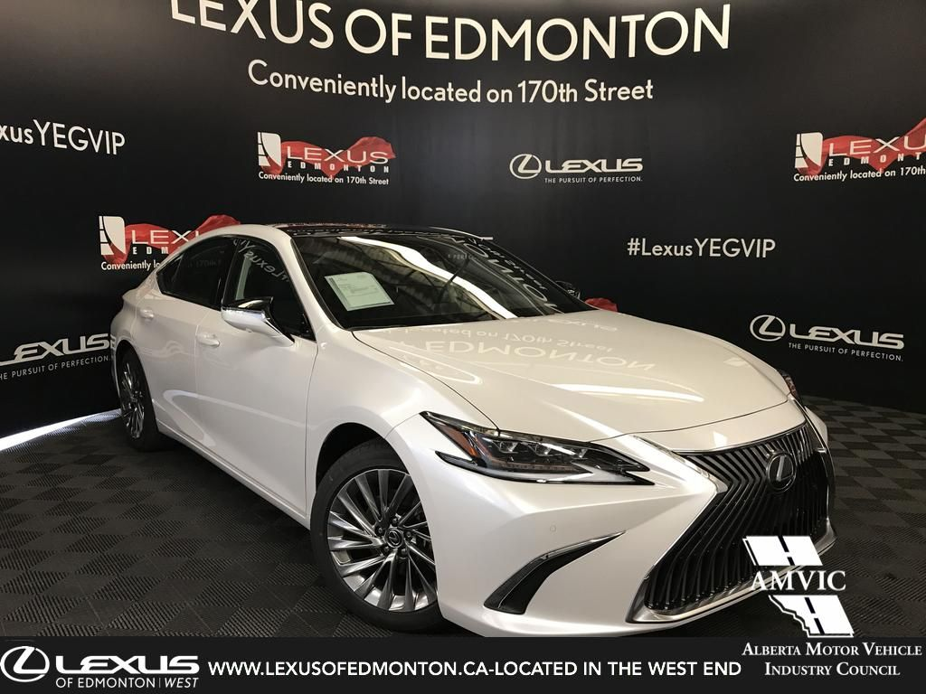 New 2019 Lexus Es 350 Ultra Luxury Package 4 Door Car In Edmonton