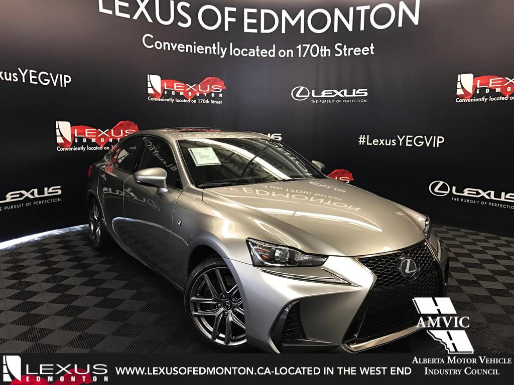 New lexus is 350 in edmonton lexus of edmonton used lexus is 350 demo unit f sport series 2 sciox Image collections