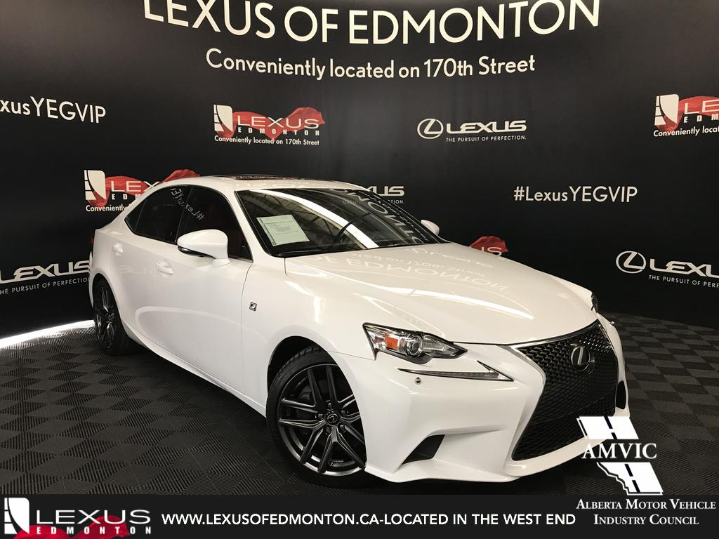 Used cars edmonton pre owned lexus inventory used lexus is 350 f sport series 3 sciox Image collections