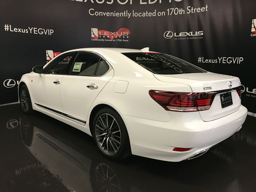 2018 lexus ls 460 f sport.  460 preowned 2017 lexus ls 460 demo unit  f sport package 4 door car in  edmonton l12388  of in 2018 lexus ls f sport