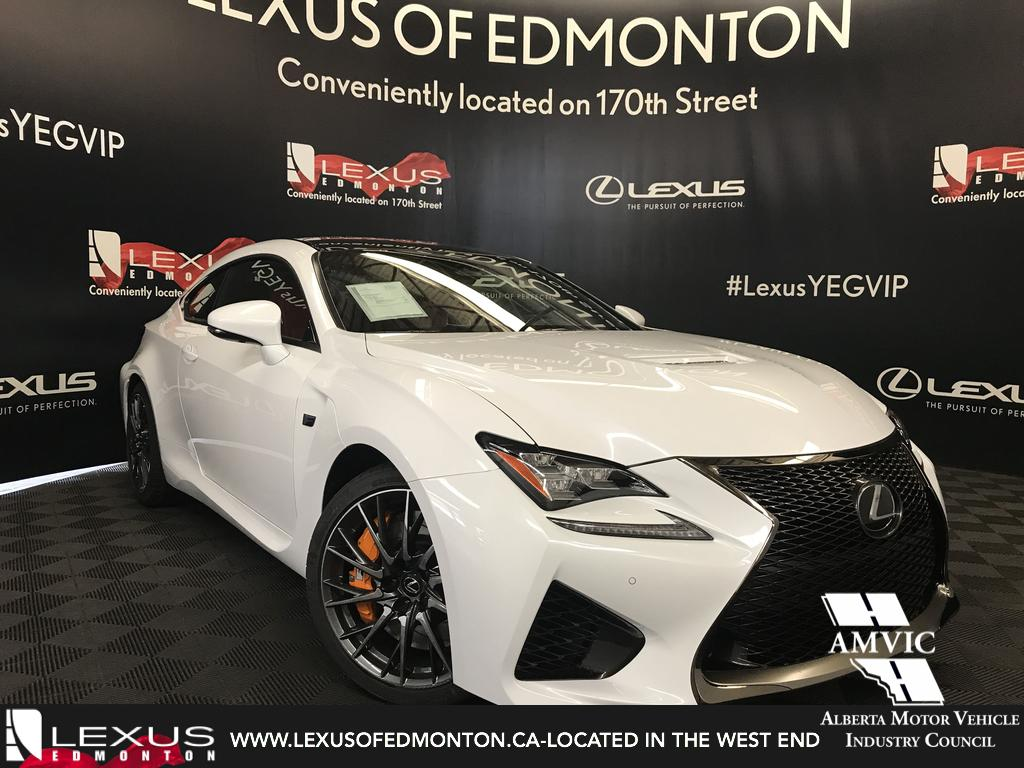 New 2019 Lexus Rc F Performance Package 2 Door Car In Edmonton Toyota Sienna Rear Differential Support