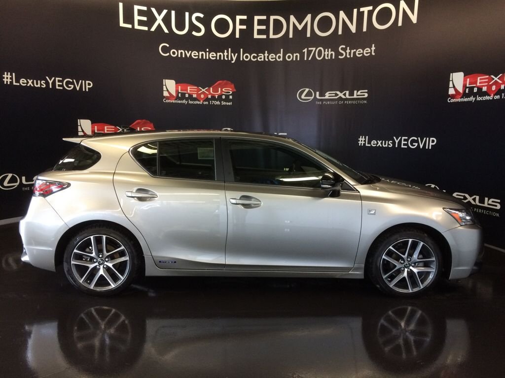 Pre Owned 2017 Lexus CT 200h DEMO UNIT F SPORT SERIES 2 4 Door Car
