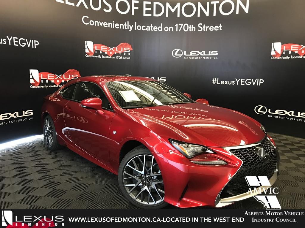 pre owned 2017 lexus rc 350 demo unit f sport series 2 2. Black Bedroom Furniture Sets. Home Design Ideas