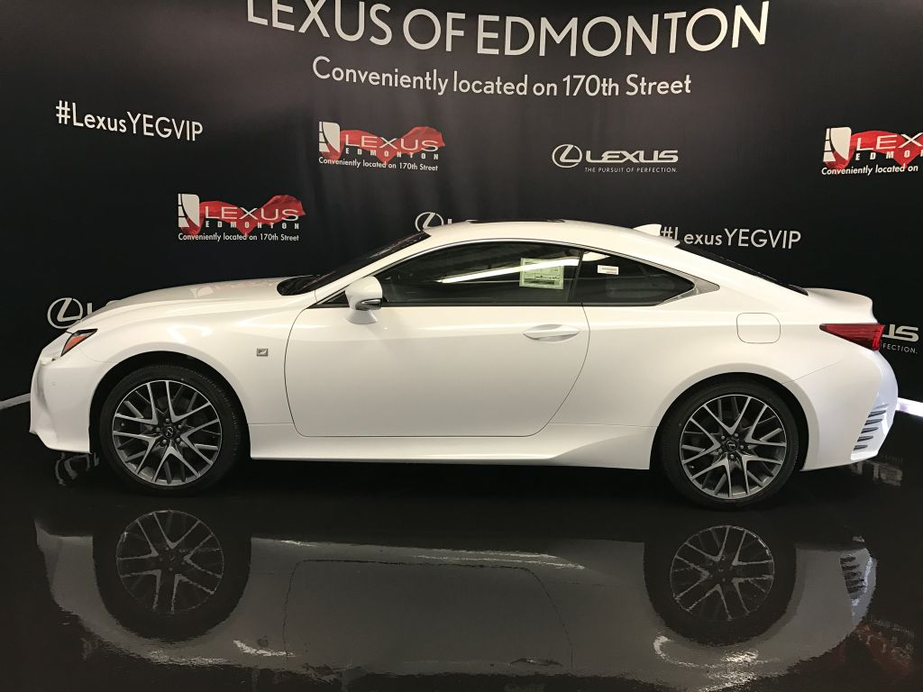Pre Owned 2017 Lexus RC 350 DEMO UNIT   F SPORT SERIES 2