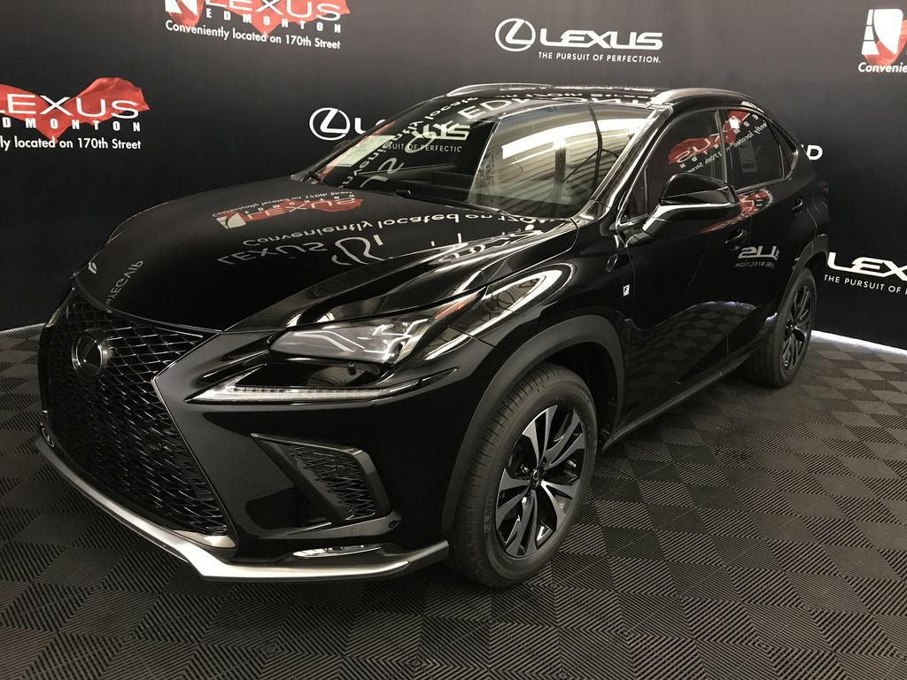 new 2018 lexus nx 300 f sport series 2 4 door sport utility in edmonton l14157 lexus of edmonton. Black Bedroom Furniture Sets. Home Design Ideas