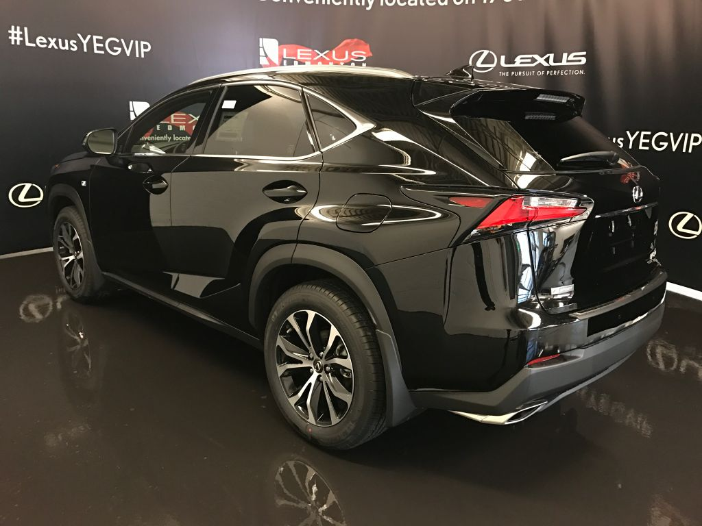 Certified pre owned 2017 lexus nx 200t demo unit f sport series 3