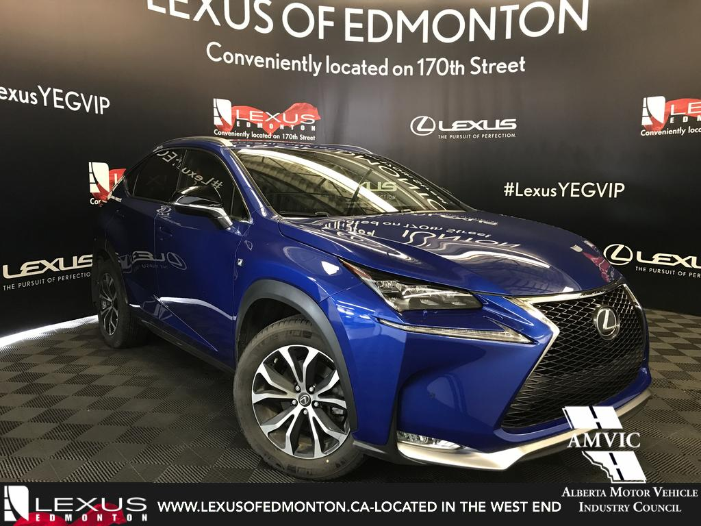 Certified pre owned 2016 lexus nx 200t demo unit f sport series 2