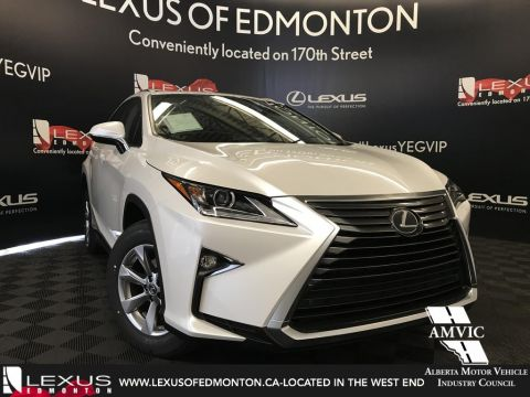New 2018 Lexus RX 350 Navigation Package