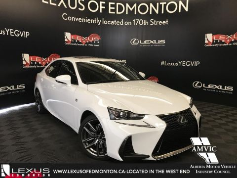 Pre-Owned 2018 Lexus IS 300 RWD DEMO UNIT - F SPORT SERIES 1