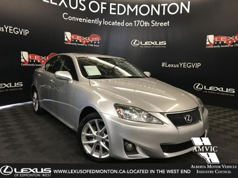 Pre-Owned 2012 Lexus IS 250 Leather w/ Moonroof & Navigation Package