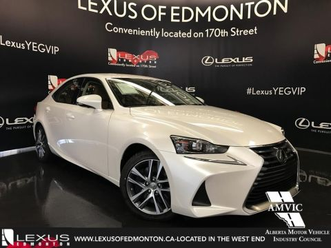Pre-Owned 2017 Lexus IS 300 DEMO UNIT - STANDARD PACKAGE