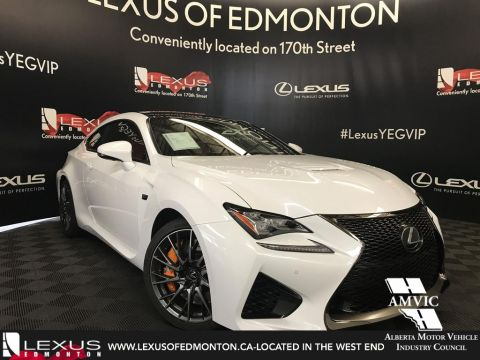 New 2019 Lexus RC F Performance Package