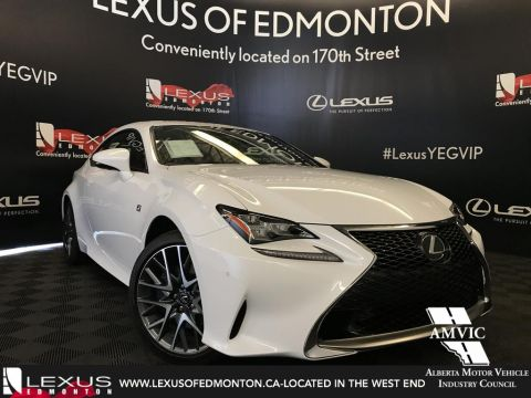 Pre-Owned 2018 Lexus RC 350 DEMO UNIT - F SPORT SERIES 2