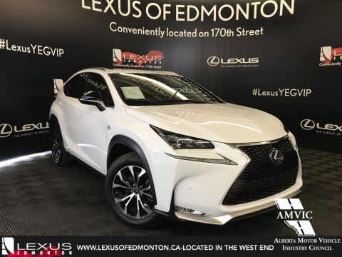 Certified Pre-Owned 2017 Lexus NX 200t F Sport Series 3