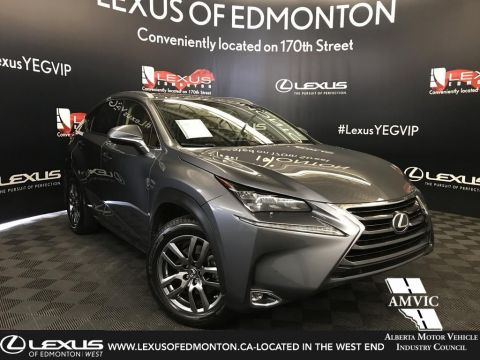 Certified Pre-Owned 2015 Lexus NX 200t Luxury Package