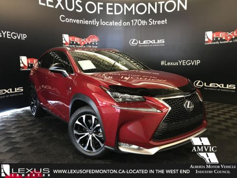 Certified Pre-Owned 2017 Lexus NX 200t F Sport Series 2