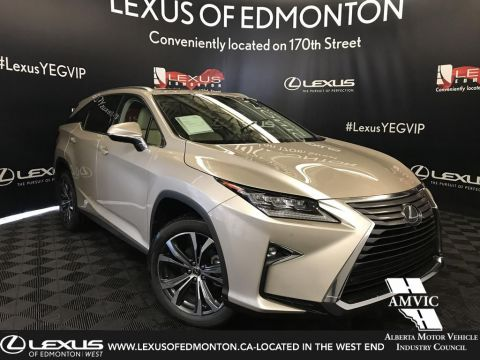 New 2019 Lexus RX 350L Luxury Package 6 Passenger