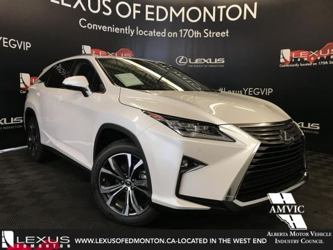 New 2018 Lexus RX 350L Luxury Package