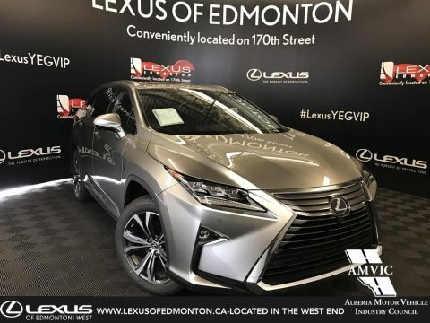 New 2018 Lexus RX 350L Luxury Package 6 Passenger