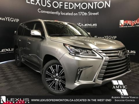 New 2018 Lexus LX 570 Executive Package